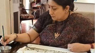 Smriti Irani Reveals Her Hidden Talent In Latest Instagram Post, Check It Out Here