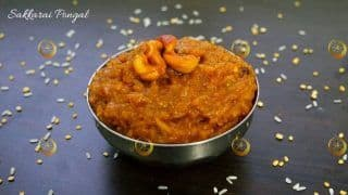Pongal 2020: Here is How to Make The Popular South Indian Dish, Sweet Pongal