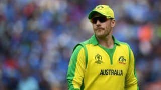 Aaron finch we beat india last year it gives us confidence 3903825