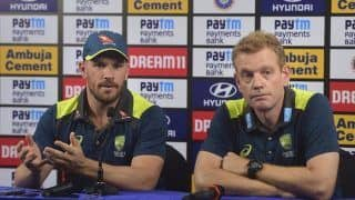 Cricket is Insignificant to What's Happening in Australia: Aaron Finch