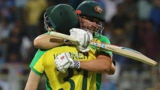 India vs australia aaron finch team make many record with 10 wicket win against india 3909950