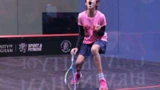 Squash: India's Anahat Singh Enters Final of British Junior Open