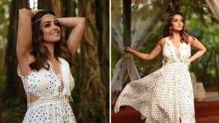 Anita Hassanandani Flaunts Her Boho-chic Look in White Dress During Her Solo Trip to Goa