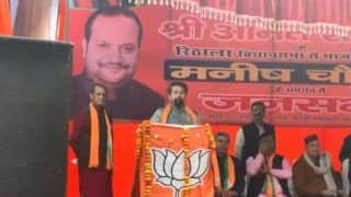 'Shoot Traitors' Speech: Election Commission Issues Notice to Union Minister Anurag Thakur