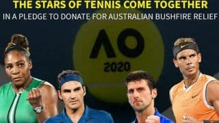 Live Streaming Details For AO Rally For Relief: Federer, Djokovic, Nadal, Serena in Action For Australian Bushfire Fundraiser