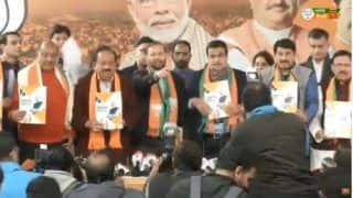Delhi Assembly Election 2020: BJP Releases Poll Manifesto With Water, Air Pollution as Its Top Priority