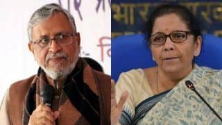 Union Budget 2020: Sushil Kumar Modi Asks Nirmala Sitharaman to Allot More Benefits to Jeevika SHGs