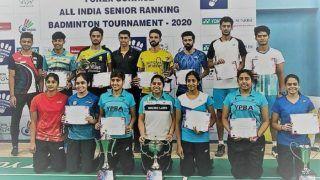 Aakarshi Kashyap, Mithun Manjunath Win Titles at All India Sr Ranking Badminton Tournament