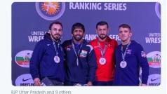 पहलवान बजरंग पूनिया ने रोम रैंकिंग सीरीज में स्वर्ण जीतकर की 2020 ओलंपिक वर्ष की शुरुआत