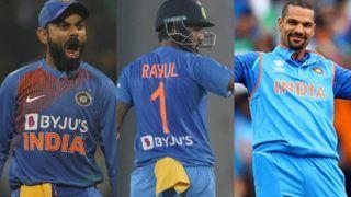 ICC T20I Rankings में शीर्ष भारतीय केएल राहुल; विराट कोहली, शिखर धवन को भी फायदा