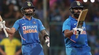 Virat Kohli greatest ODI player of all time; Rohit Sharma in Top-5, says Aaron Finch