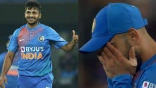 New zealand vs india 2nd t20i: twitter troll shardul thakur after horrendous bowling spell