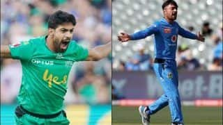Two Hat-Tricks in One Day: Pakistan Pace Sensation Haris Rauf Claims a Hat-Trick for Melbourne Stars Hours After Rashid Khan's Feat in Big Bash League for Adelaide Strikers | WATCH VIDEO