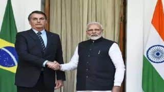 PM Modi, Brazilian President Bolsonaro Hold Talks to Boost Strategic Ties; India-Brazil Sign 15 Agreements in Various Fields - Top Developments