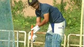 Ms dhoni practise without any problem, says jharkhand coach Sanjeev Kumar