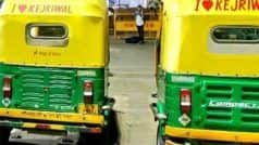 Auto Driver Fined For Putting    I love Kejriwal    ad; CM Urges BJP to Stop Taking Revenge From Poor