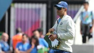 MS Dhoni starts practice with jharkhand ranji team