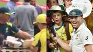 David Warner's Gives Bat And Gloves to Fan, Heart-Warming Gesture Will Win Your Heart | WATCH VIDEO