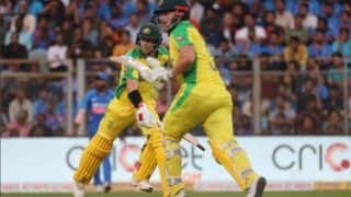 Indvaus david warner aaron finch century guide to australia beat india by 10 wickets 3909590