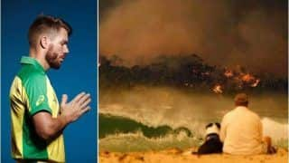 David Warner Pays Heartfelt Tribute to Firefighters With Touching Message, Expresses Shock on Australia Bushfire Crisis in New South Wales