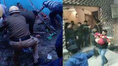 दिल्ली: भजनपुरा में इमारत ढही, कोचिंग क्लास में पढ़ने आए कई छात्र फंसे