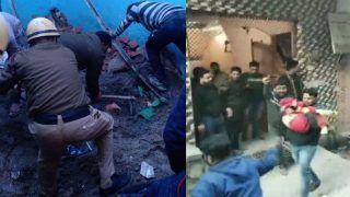 दिल्ली: भजनपुरा इलाके में इमारत ढहने से चार छात्रों समेत पांच की मौत, 13 अस्पताल में भर्ती