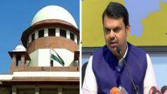 महाराष्ट्र के पूर्व CM देवेंद्र फडणवीस की याचिका पर खुली अदालत में होगी सुनवाई: SC