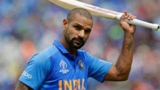 India vs Australia 2020, 2nd ODI: Shikhar Dhawan Gets Hit on Rib-Cage, Will Not Field in Rajkot