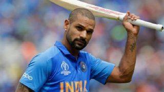 India vs Australia 2020, 2nd ODI: Shikhar Dhawan Gets Hit on Rib-Cage, Will Not Field in Rajkot