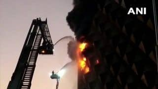 Breaking News on January 21: Massive Fire Breaks Out at Raghuvir Market in Surat, 57 Tenders at Spot