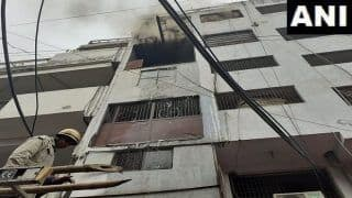 Fire Breaks Out at Shoe Factory in Delhi's Lawrence Road, 26 Fire Tenders Rushed to Spot