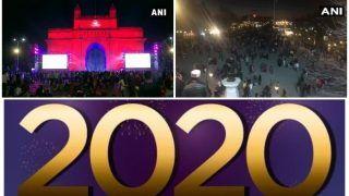 Happy New Year 2020: नए साल का आगाज, जश्न में डूबा देश, लोगों ने दीं एक-दूसरे को बधाईयां