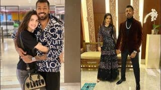 Love in The Air! Pandya-Stankovic Give Couple Goals Again   POST