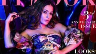 Hacked Actor Hina Khan Sets Internet on Fire as She Poses Sensuously in Hot Outfit For Magazine's Cover
