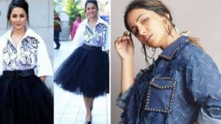Hina Khan's Denim-on Denim Look is Absolutely Stunning And it Has Left Her Fans Impressed
