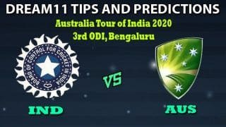 Dream11 Hints IND vs AUS 3rd ODI Team, India vs Australia Playing 11, 3rd ODI