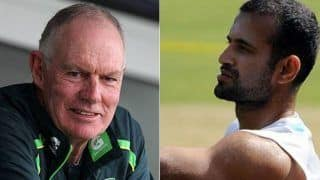 Greg chappell believes irfan pathan was capable and courageous allrounder of team india 3901547