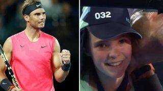 Australian Open: Rafael Nadal Comforts Ball Kid With a Peck on Cheek After Return Hits Her Face, Gesture Wins Internet | WATCH VIDEO