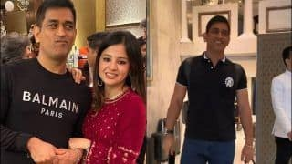 MS Dhoni Blushes When Sakshi Calls Former India Captain 'Sweety, Cutie', Video Goes Viral | WATCH