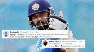 Virat Kohli-Led India Collapse Against Australia in 1st ODI at Mumbai, Fans Urge BCCI to Get Ajinkya Rahane Back   POSTS