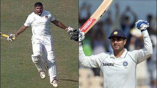 Sarfaraz Khan Does a Virender Sehwag, Slams Maiden Triple Century During Mumbai-Uttar Pradesh Ranji Trophy Game With a Six | WATCH VIDEO