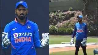 Not Rishabh Pant, KL Rahul Will be Wicket-keeper in Virat Kohli-Led India at Auckland During 1st T20I Versus New Zealand   WATCH VIDEO