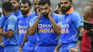 People Need Not Panic, It   s Just One Game, Says Virat Kohli After Australia Crush India at Wankhede