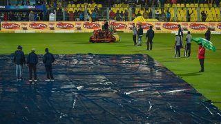 Heavy Rain Washes Out 1st T20I Between India and Sri Lanka at Guwahati