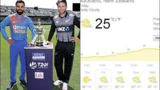 Ind vs NZ 1st T20I Weather Report: Will Rain Play Spoilsport?