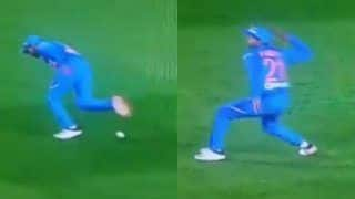 WATCH: Umpires Fail to Notice Manish Pandey   s Fake Fielding