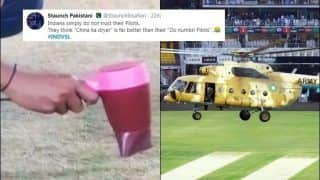 'Indians don't Trust Their Pilots': Pak Fans Troll BCCI After Hair Dryer Get Used at Guwahati | POSTS