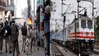 CAA और NRC के विरोध प्रदर्शन में भारतीय रेलवे को पश्चिम बंगाल में 84 करोड़ का नुकसान हुआ