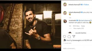 Ishant Sharma's Post on Instagram Receives Savage Reply From Virat Kohli