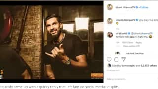Virat kohli hilariously trolls ishant sharma on his instagram post 3907418